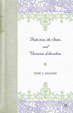 Malachuk, Daniel S. - Perfection, the State, and Victorian Liberalism, ebook