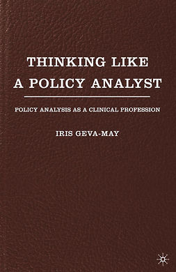 Geva-May, Iris - Thinking Like a Policy Analyst, ebook
