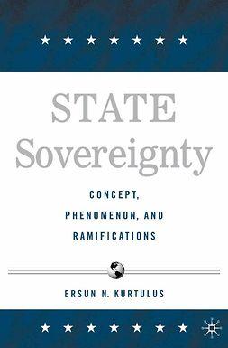 Kurtulus, Ersun N. - State Sovereignty, e-kirja