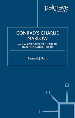 Paris, Bernard J. - Conrad's Charlie Marlow, ebook