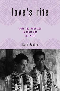 Vanita, Ruth - Love's Rite, ebook