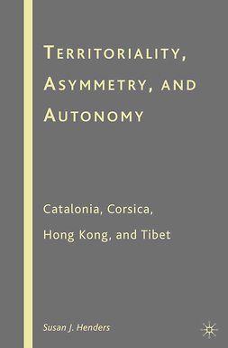 Henders, Susan J. - Territoriality, Asymmetry, and Autonomy, ebook