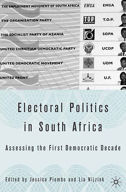 Nijzink, Lia - Electoral Politics in South Africa, ebook