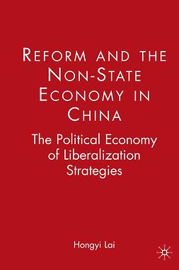 Lai, Hongyi - Reform and the Non-State Economy in China, ebook