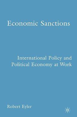 Eyler, Robert - Economic Sanctions, ebook