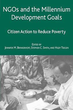 Brinkerhoff, Jennifer M. - NGOs and the Millennium Development Goals, e-bok