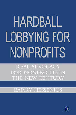 Hessenius, Barry - Hardball Lobbying for Nonprofits, ebook