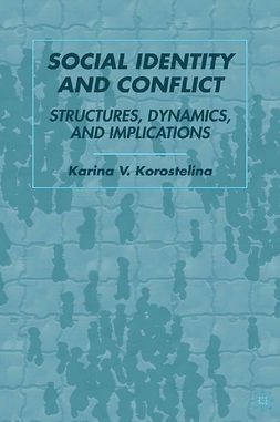 Korostelina, Karina V. - Social Identity and Conflict, e-bok