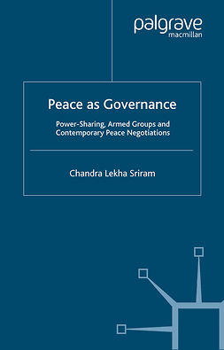 Sriram, Chandra Lekha - Peace as Governance, ebook