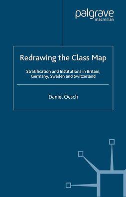 Oesch, Daniel - Redrawing the Class Map, e-kirja