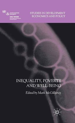 McGillivray, Mark - Inequality, Poverty and Well-being, ebook