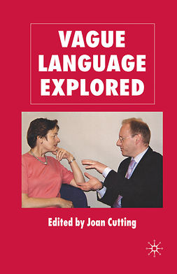 Cutting, Joan - Vague Language Explored, ebook