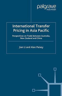 Li, Jian - International Transfer Pricing in Asia Pacific, ebook