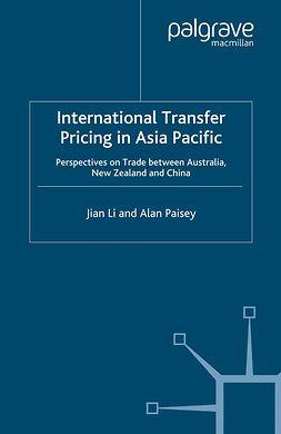 Li, Jian - International Transfer Pricing in Asia Pacific, ebook
