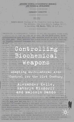 Dando, Malcolm - Controlling Biochemical Weapons, ebook