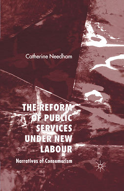 Needham, Catherine - The Reform of Public Services under New Labour, ebook