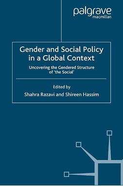 Hassim, Shireen - Gender and Social Policy in a Global Context, ebook