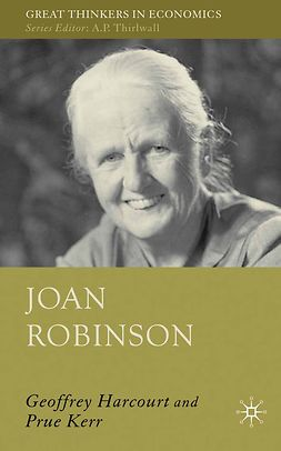 Harcourt, G. C. - Joan Robinson, ebook