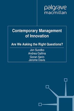 Davis, Jerome - Contemporary Management of Innovation, ebook