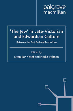 Bar-Yosef, Eitan - 'The Jew' in Late-Victorian and Edwardian Culture, e-bok