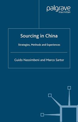 Nassimbeni, Guido - Sourcing in China, ebook