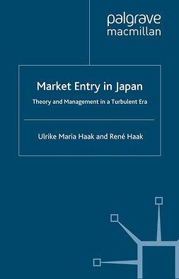 Haak, René - Market Entry in Japan, ebook