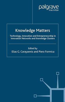 Carayannis, Elias G. - Knowledge Matters, ebook