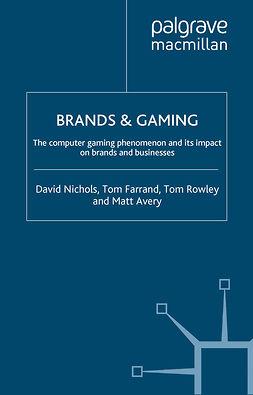 Avery, Matt - Brands & Gaming, ebook