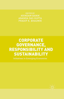 Banik, Arindam - Corporate Governance, Responsibility and Sustainability, ebook