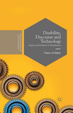 Zidjaly, Najma - Disability, Discourse and Technology, e-bok