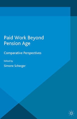 Scherger, Simone - Paid Work Beyond Pension Age, ebook
