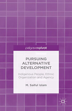 Islam, M. Saiful - Pursuing Alternative Development: Indigenous People, Ethnic Organization and Agency, ebook