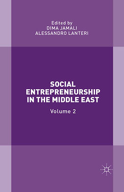 Jamali, Dima - Social Entrepreneurship in the Middle East, ebook