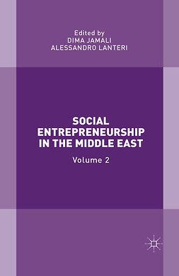 Jamali, Dima - Social Entrepreneurship in the Middle East, e-bok