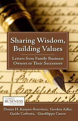 Adler, Gordon - Sharing Wisdom, Building Values, ebook