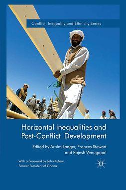 Langer, Arnim - Horizontal Inequalities and Post-Conflict Development, e-bok