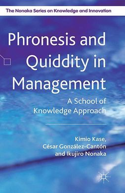 González-Cantón, César - Phronesis and Quiddity in Management, ebook