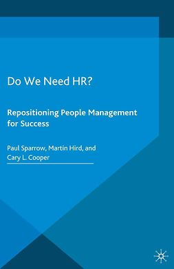 Cooper, Cary L. - Do We Need HR?, ebook