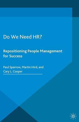 Cooper, Cary L. - Do We Need HR?, e-bok