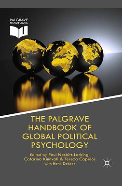 Capelos, Tereza - The Palgrave Handbook of Global Political Psychology, e-bok