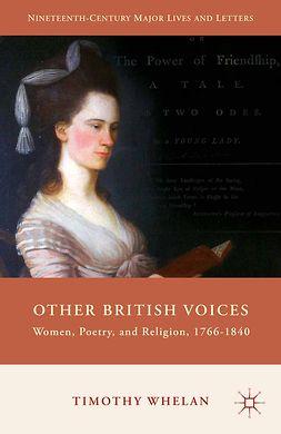Whelan, Timothy - Other British Voices, ebook