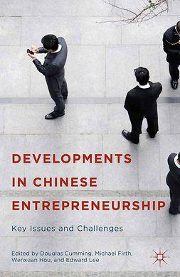 Cumming, Douglas - Developments in Chinese Entrepreneurship, ebook
