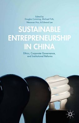 Cumming, Douglas - Sustainable Entrepreneurship in China, ebook
