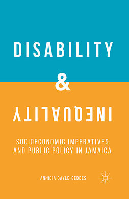 Gayle-Geddes, Annicia - Disability and Inequality, ebook
