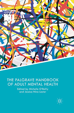 Lester, Jessica Nina - The Palgrave Handbook of Adult Mental Health, e-kirja