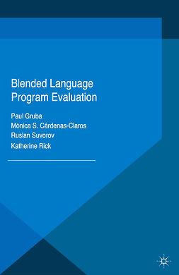 Cárdenas-Claros, Mónica S. - Blended Language Program Evaluation, ebook