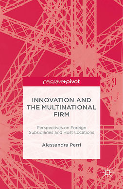Perri, Alessandra - Innovation and the Multinational Firm: Perspectives on Foreign Subsidiaries and Host Locations, ebook
