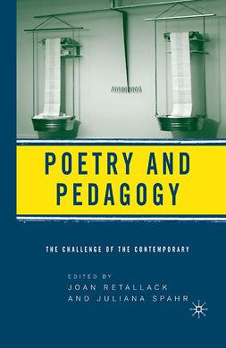 Retallack, Joan - Poetry & Pedagogy, ebook