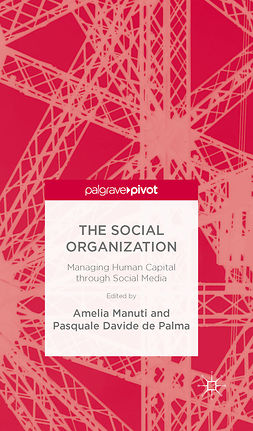 Manuti, Amelia - The Social Organization: Managing Human Capital through Social Media, ebook