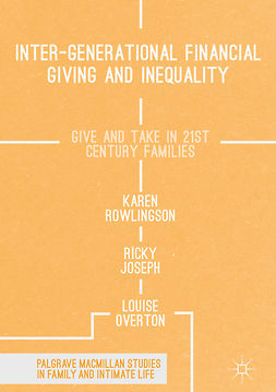 Joseph, Ricky - Inter-generational Financial Giving and Inequality, ebook
